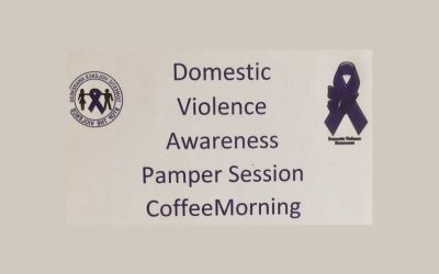Domestic Violence Awareness Coffee Morning and Pampering Session
